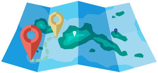 √ ارسال از روی نقشه گوگل از طریق پنل اس ام اس